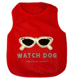 PAMPET / Puppe Love Dog Shirt, Sleeveless Mesh Watch Dog, Size 0