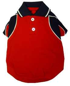 PAMPET / Puppe Love Dog Shirt, Polo Forever Red, Size 0