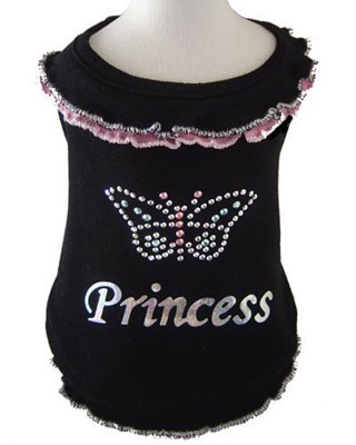 PAMPET / Puppe Love Dog Blouse, Butterfly Princess Pink, Size 4