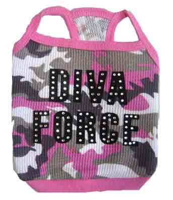 PAMPET / Puppe Love Dog Tank Top, Diva Force Pink Camo, Size 4