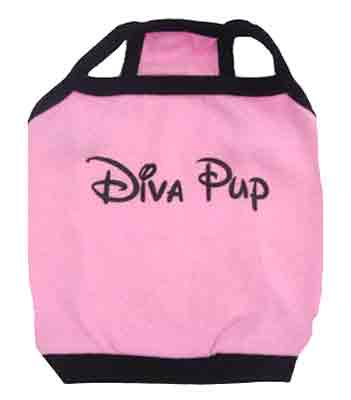 PAMPET / Puppe Love Dog Tank Top, Diva Pup, Size 1