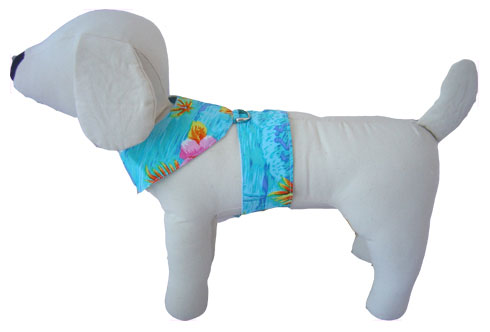 PAMPET / Puppe Love Dog Harness, Hawaiian Blue, Size 00