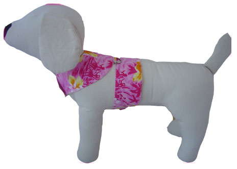 PAMPET / Puppe Love Dog Harness, Hawaiian Pink, Size 1