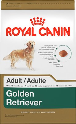 Royal Canin Golden Retriever Adult Dry Dog Food, 17-lb bag