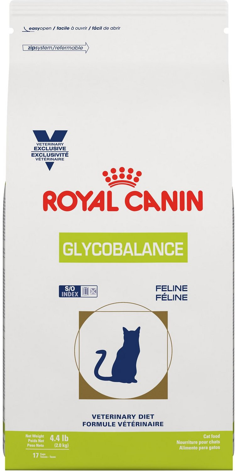 Royal Canin Veterinary Diet Glycobalance S/O Index Dry Cat Food, 4.4-lb bag