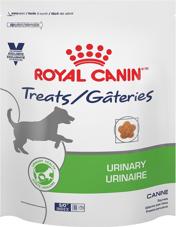 Royal Canin Veterinary Diet Urinary Canine Dog Treats, 1.1-lb bag