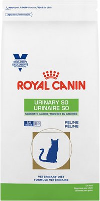Royal Canin Veterinary Diet Urinary SO Moderate Calorie Dry Cat Food, 6.6-lb bag