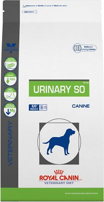 Royal Canin Veterinary Diet Urinary SO Dry Dog Food, 6.6-lb bag