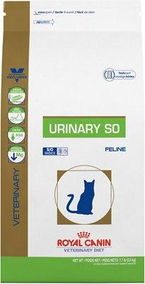 Royal Canin Veterinary Diet Urinary SO Dry Cat Food, 7.7-lb bag