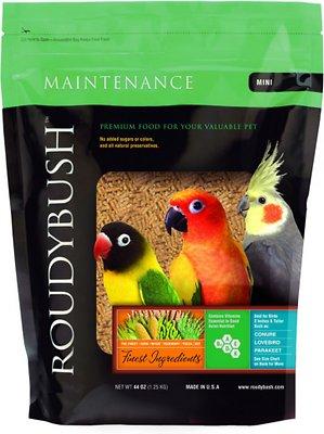 Roudybush Daily Maintenance Bird Food Mini, 44-oz bag