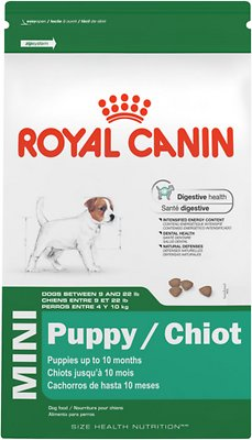 Royal Canin Mini Puppy Dry Dog Food, 2.5-lb bag