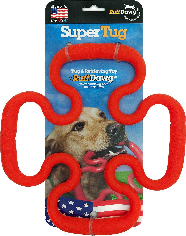 Ruff Dawg Tug Toy, Color Varies, Super Tug