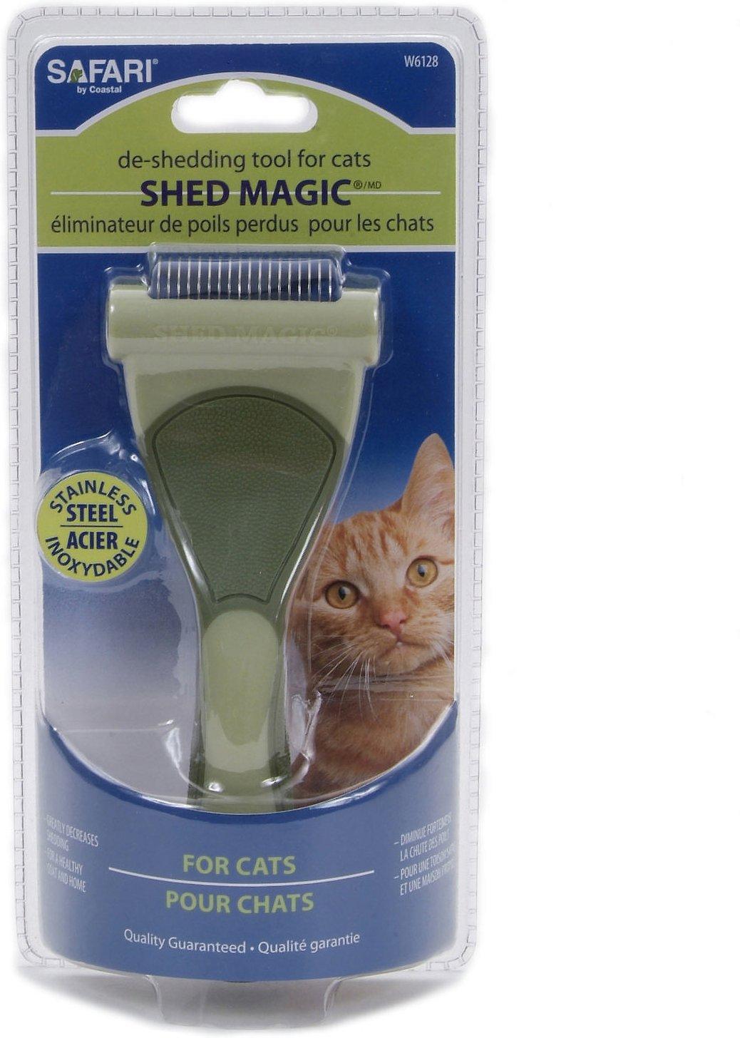 Safari Shed Magic De-Shedding Tool for Cats