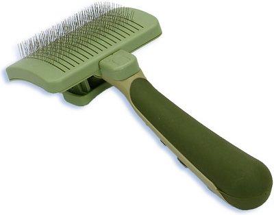 Safari Self-Cleaning Slicker Brush for Dogs, Medium