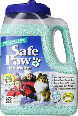 Safe Paw Ice Melter for Dogs & Cats, 8.3-lb