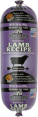 Redbarn Naturals Lamb Recipe Dog Food Roll, 2-lb 3-oz roll