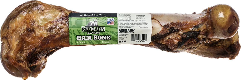 Redbarn Naturals X-Large Ham Bones Dog Treats