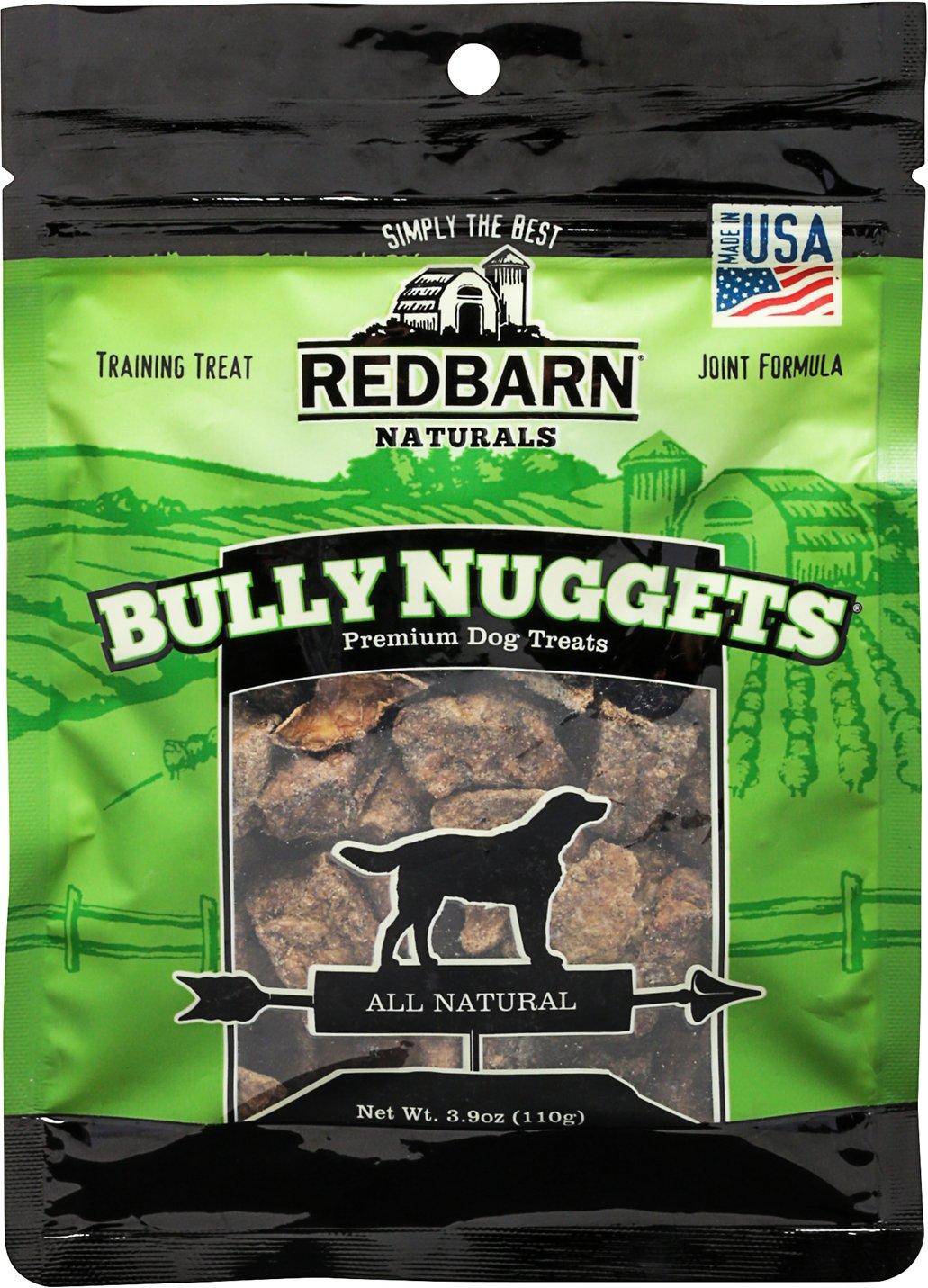 Redbarn Naturals Bully Nuggets Dog Treats, 3.9-oz bag