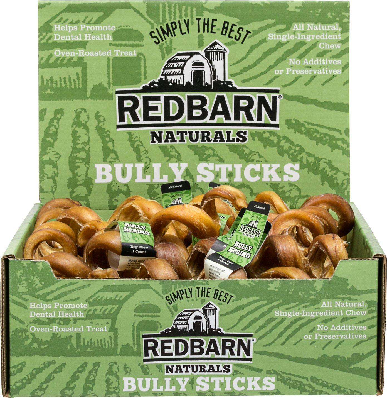 """Redbarn Naturals Bully Springs 6"""" Dog Treats"""