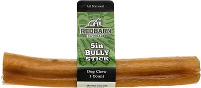"Redbarn Bully Stick 5"" Dog Treat, 1 count"