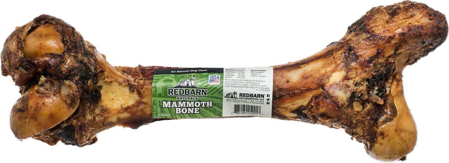 Redbarn Naturals Mammoth Bones Dog Treats