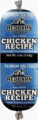 Redbarn Naturals Chicken Recipe Dog Food Roll, 4-oz