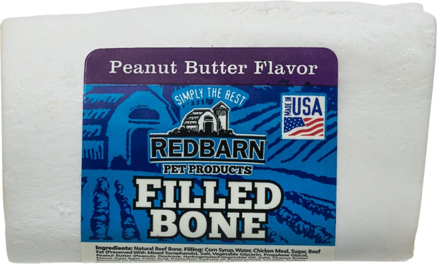 Redbarn Small Peanut Butter Filled Bones Dog Treats