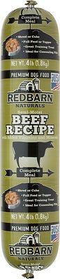 Redbarn Naturals Beef Recipe Dog Food Roll, 4-lb