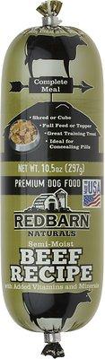 Redbarn Naturals Beef Recipe Dog Food Roll, 10.5-oz