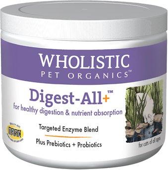 Wholistic Pet Organics Digest-All Plus Cat Supplement