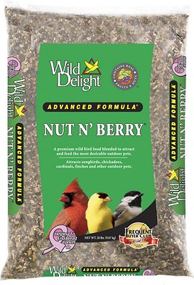 Wild Delight Nut N' Berry Bird Food, 20-lb