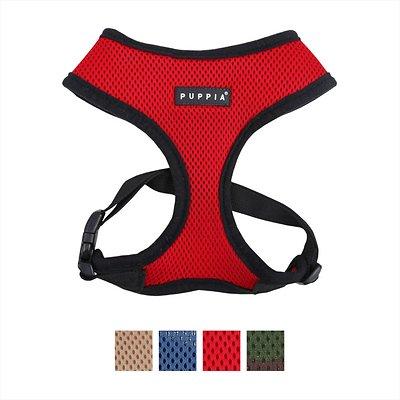 Puppia Soft Black Trim Dog Harness