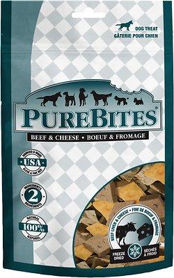 PureBites Beef & Cheese Freeze-Dried Dog Treats