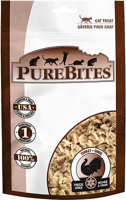 PureBites Turkey Breast Freeze-Dried Cat Treats
