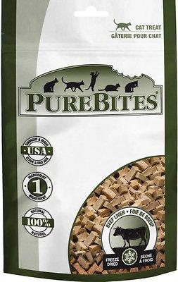 PureBites Beef Liver Freeze-Dried Cat Treats