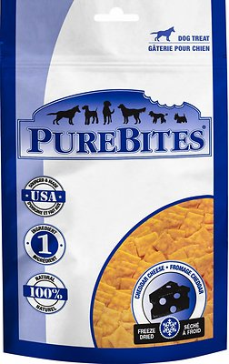PureBites Cheddar Cheese Freeze-Dried Dog Treats