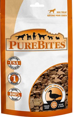 PureBites Duck Liver Freeze-Dried Dog Treats