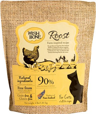 Wishbone Roost Grain-Free Dry Cat Food