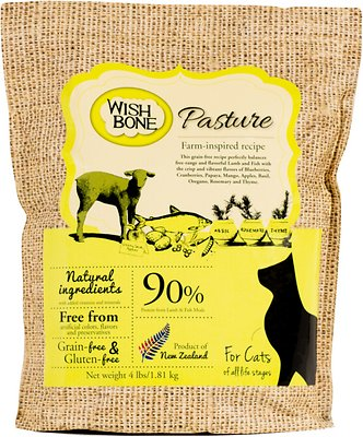 Wishbone Pasture Grain-Free Dry Cat Food