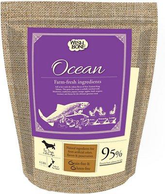 Wishbone Ocean Grain-Free Dry Dog Food, 4-lb