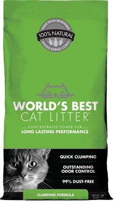 World's Best Cat Litter Clumping Formula, 7-lb bag