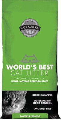 World's Best Cat Litter Clumping Formula, 28-lb bag