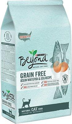 Purina Beyond Grain-Free Ocean Whitefish & Egg Recipe Dry Cat Food, 11-lb bag