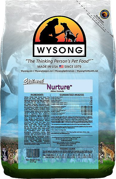 Wysong Optimal Nurture Dry Cat Food, 5-lb bag