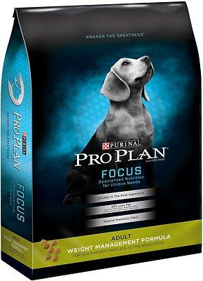 Purina Pro Plan Focus Adult Weight Management Formula Dry Dog Food, 6-lb bag