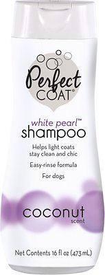 Perfect Coat White Pearl Coconut Shampoo for Dogs, 16-oz bottle