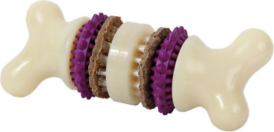 PetSafe Busy Buddy Bristle Bone Dog Toy, Medium