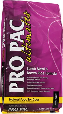 Pro Pac Ultimates Lamb Meal & Brown Rice Dry Dog Food
