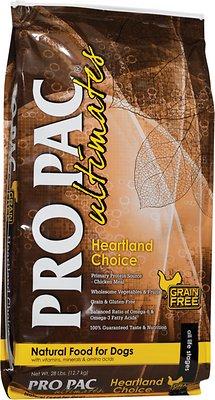 Pro Pac Ultimates Heartland Choice Chicken & Potato Grain-Free Dry Dog Food