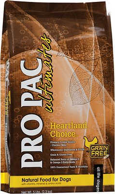 Pro Pac Ultimates Heartland Choice Chicken & Potato Grain-Free Dry Dog Food Weights: 28.0 pounds, Size: 28-lb bag